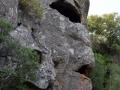 Maschera di pietra