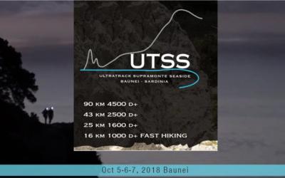 UTSS Ultra Track Supramonte Seaside – Baunei 2018